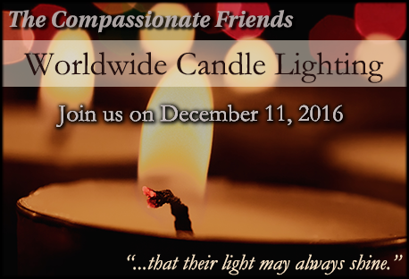 worldwide candle lighting flyer & Worldwide Candle Lighting Ceremony | The Compassionate Friends Space ...