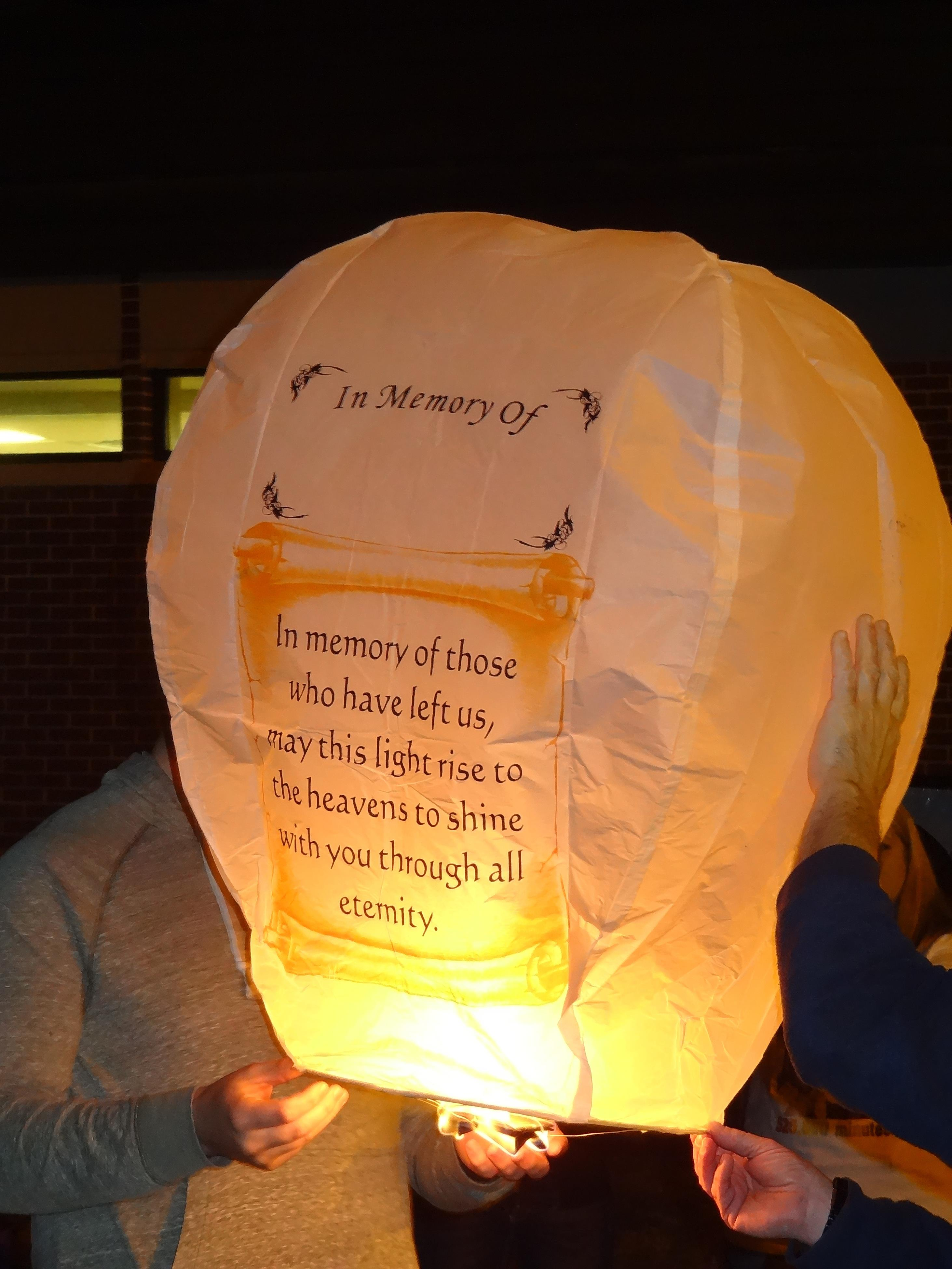 space coast chapter the compassionate friends lantern launch